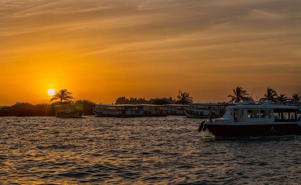 Maldives Male Sunset