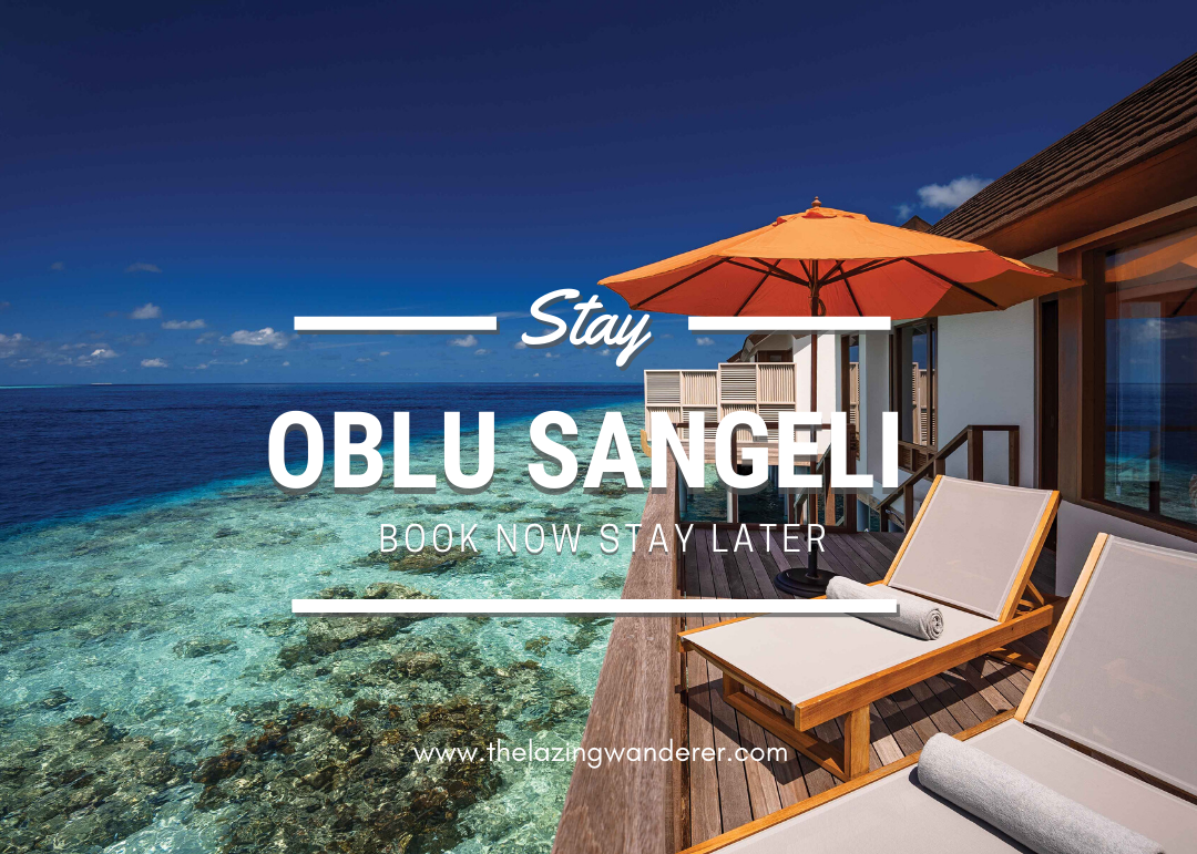 Oblu Sangeli Maldives Book Now Travel Later Promotions