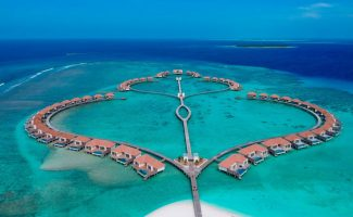 Radisson Blu Maldives Aerial Shot